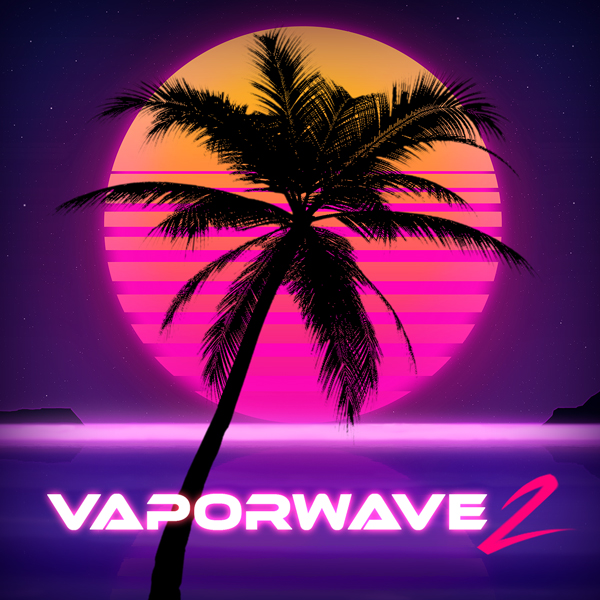 Album art for the EDM album VAPORWAVE 2.