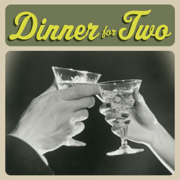 Album cover of DINNER FOR TWO