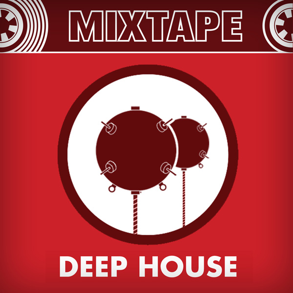 Album art for the ELECTRONIC DANCE MUSIC album DEEP HOUSE.