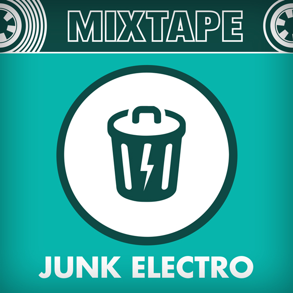 Album art for the ELECTRONICA album JUNK ELECTRO.