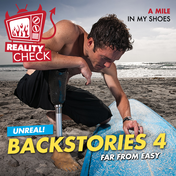 Album art for the REALITY album BACKSTORIES 4.