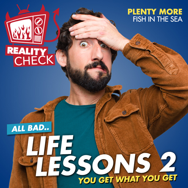 Album art for the REALITY album LIFE LESSONS 2.