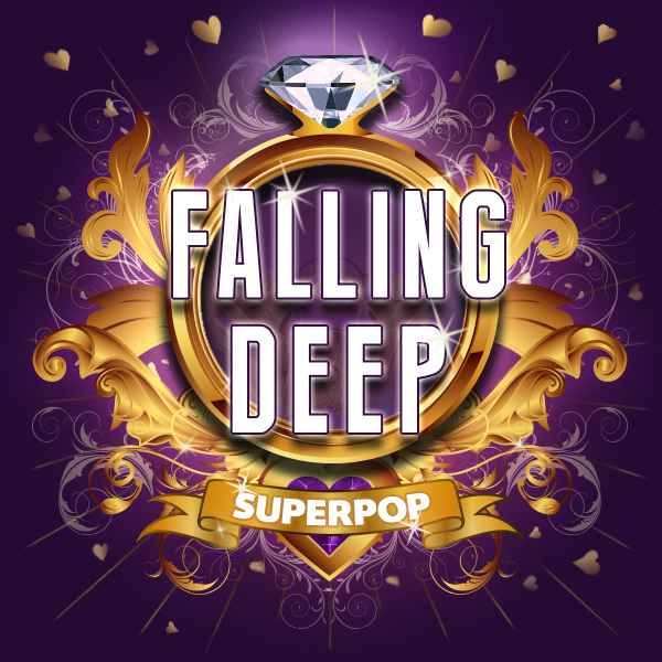 Album art for the POP album FALLING DEEP.