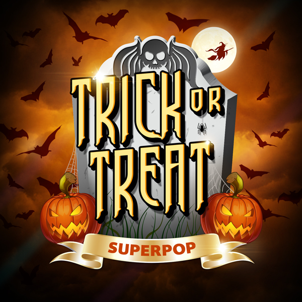 Album art for the POP album TRICK OR TREAT.