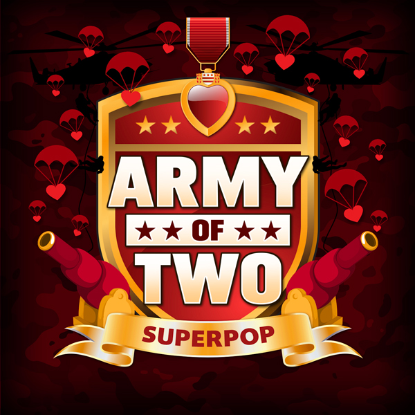 Album art for the POP album ARMY OF TWO.
