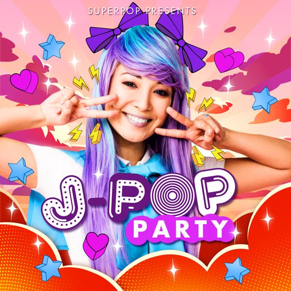 Album art for the POP album J-POP PARTY.