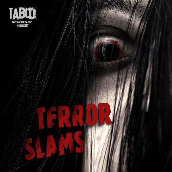 Album art for the SOUND DESIGN album TERROR SLAMS.