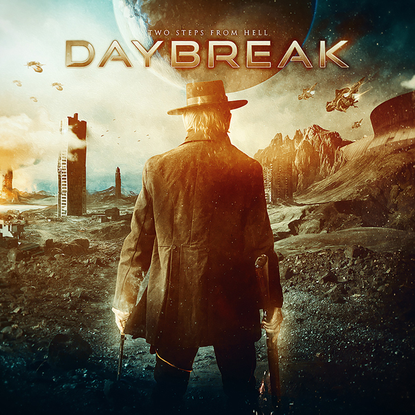 Album art for the SCORE album DAYBREAK by TWO STEPS FROM HELL.