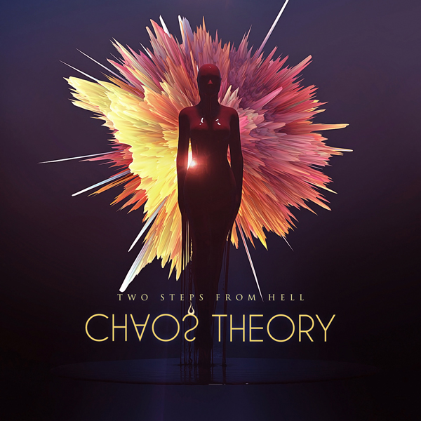 Album art for the SCORE album CHAOS THEORY by TWO STEPS FROM HELL.