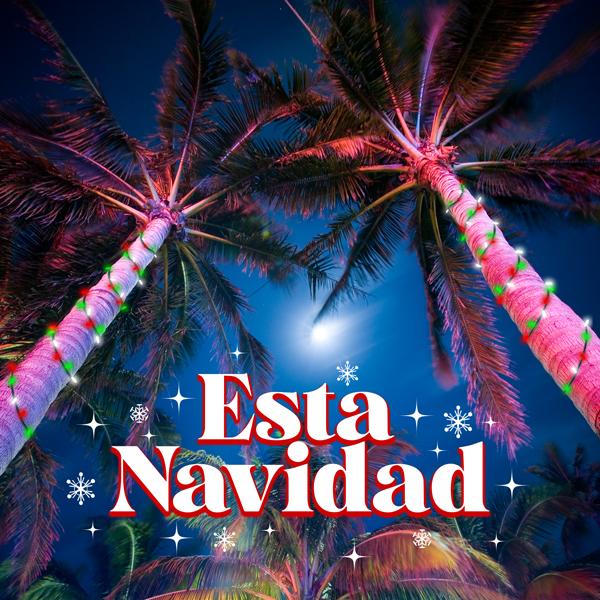 Album art for the HOLIDAY album ESTA NAVIDAD.
