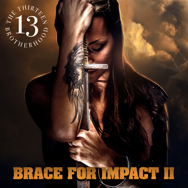 Album art for the HIP HOP album BRACE FOR IMPACT 2.