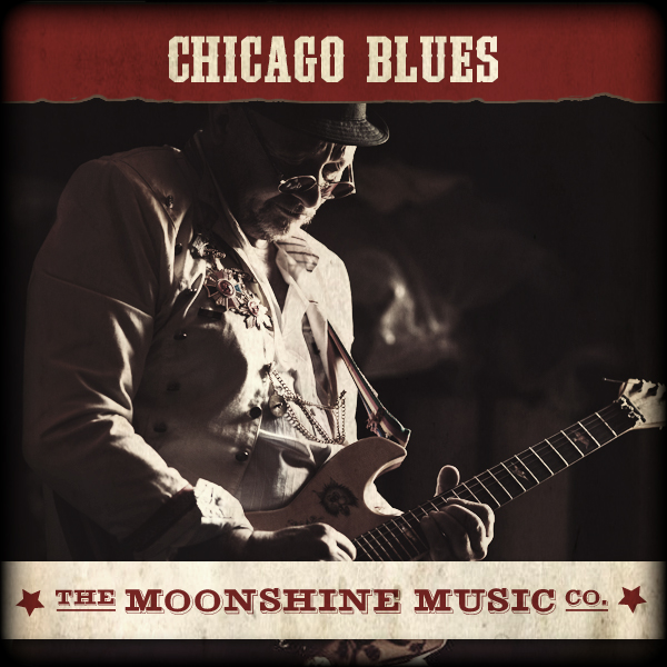 Album art for the BLUES album CHICAGO BLUES.