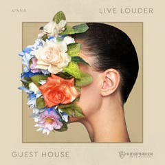 Album art for LIVE LOUDER by GUESTHOUSE.