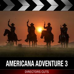 Album art for the SCORE album AMERICANA ADVENTURE 3.
