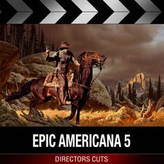 Album art for the SCORE album EPIC AMERICANA 5.