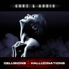 Album art for the SCORE album DELUSIONS & HALLUCINATIONS.