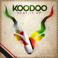 Album art for the WORLD album HEAT IT UP by KOODOO.