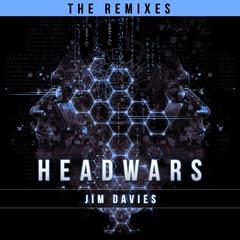 Album art for HEADWARS–THE REMIXES by JIM DAVIES.