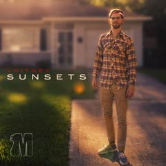 Album art for the R&B album SUNSETS by LHITNEY.