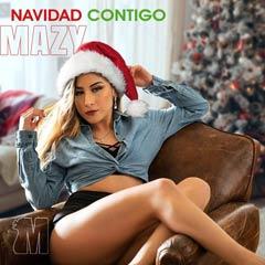 Album art for NAVIDAD CONTIGO by MAZY.