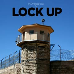 Album art for the SCORE album LOCK UP.