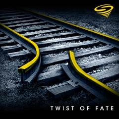 Album art for the SCORE album TWIST OF FATE.
