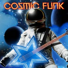 Album art for the R&B album COSMIC FUNK.