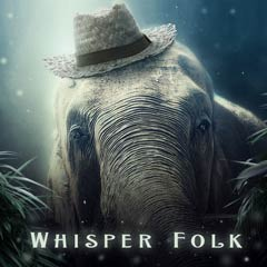 Album art for the FOLK album WHISPER FOLK.