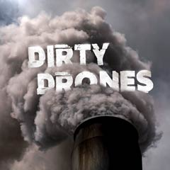 Album art for the ATMOSPHERIC album DIRTY DRONES.