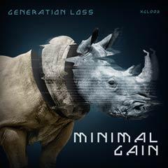 Album art for the ELECTRONICA album MINIMUM GAIN.