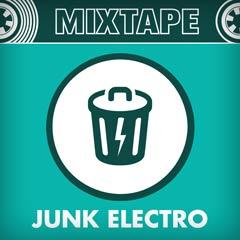 Album art for the ELECTRONICA album JUNK ELECTRO.