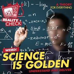 Album art for SCIENCE IS GOLDEN.