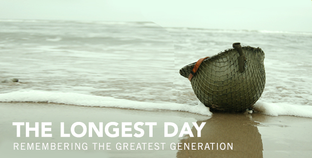 Art for THE LONGEST DAY : REMEMBERING THE GREATEST GENERATION.