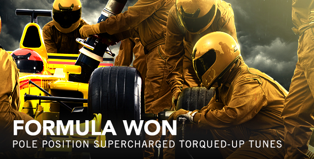 Art for FORMULA WON : POLE POSITION SUPERCHARGED TORQUED-UP TUNES.
