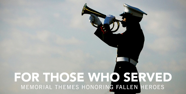 Art for FOR THOSE WHO SERVED : HEROIC HALF-MAST CEREMONIAL SONIC SALUTES.