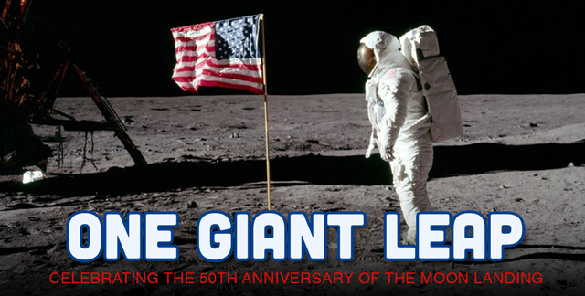 Art for ONE GIANT LEAP : CELEBRATING THE 50TH ANNIVERSARY OF THE MOON LANDING.