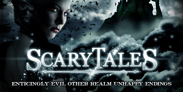 Art for SCARY TALES : ENTICINGLY EVIL OTHER REALM UNHAPPY ENDINGS.