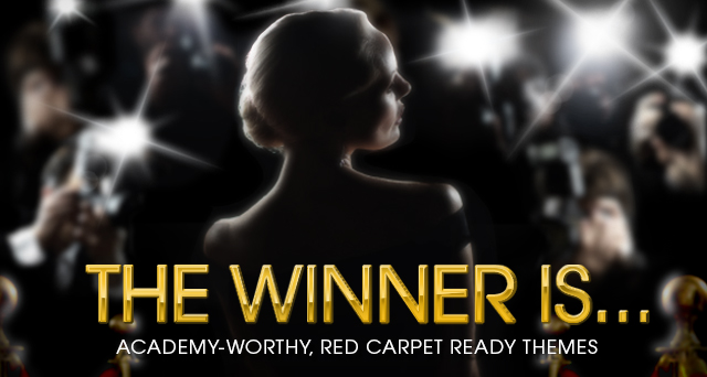 Art for THE WINNER IS... : ACADEMY-WORTHY, RED CARPET READY THEMES.
