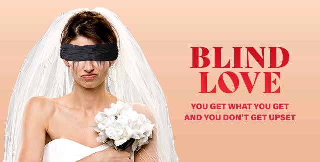 Album art for BLIND LOVE.