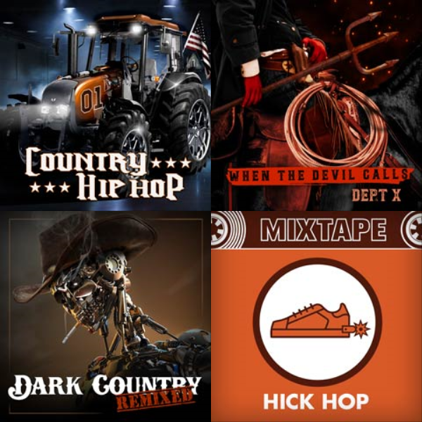 Playlist artwork of COUNTRY TRAP