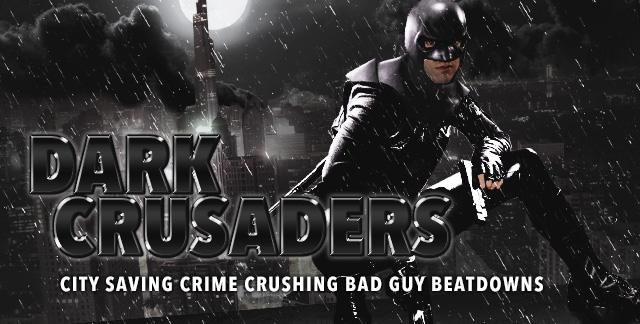 Album art for DARK CRUSADERS.