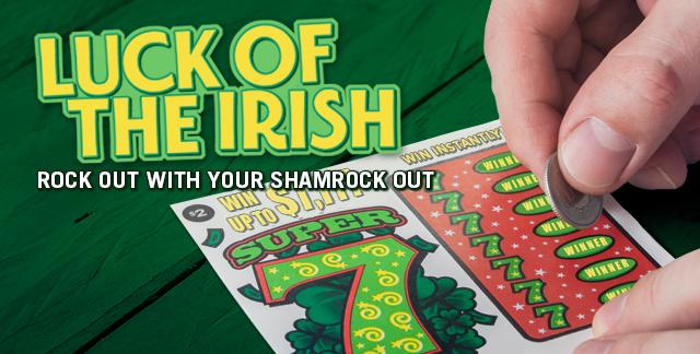 Album art for LUCK OF THE IRISH.
