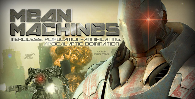 Album art for MEAN MACHINES.