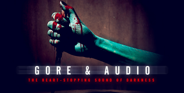 Art for GORE & AUDIO.